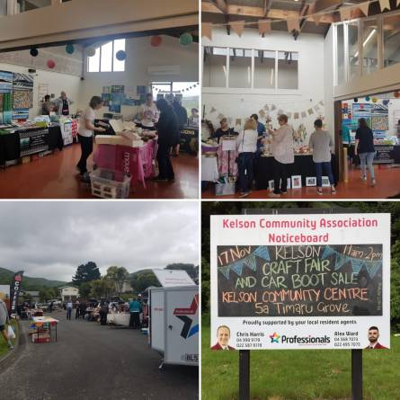 Car boot sale and craft fair 2018