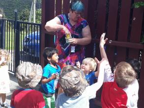 Visit from Hutt City Library